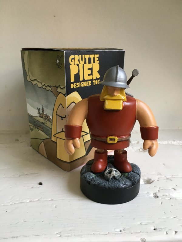 Grutte Pier Designer Toy (limited edition)