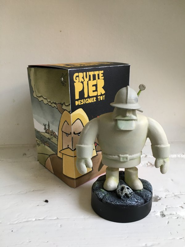 Grutte Pier Designer Toy GHOST versie (limited edition)